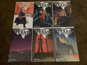 That Texas Blood 1-6 lot by Chris Condon & Jacob Phillips Image Comics