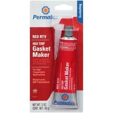 Permatex High - Temp Red RTV Silicone Gasket Maker OEM Specified 3 oz Tube 26B