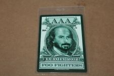 Foo Fighters - Laminated Backstage Pass - Lot # 3 - Free Shipping -