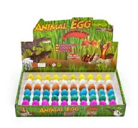 6Pcs Set Magic Hatching Dinosaur Eggs Water Growing Eggs Children Kids Toy Gift