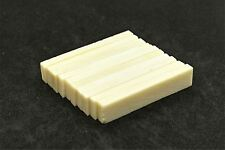 "Bone Nut Blanks  Unbleached - 2"" x .4"" x .14"" - 10 pack"