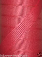 "100 yds 5/8"" Offray Watermelon Grosgrain Ribbon 4 Hairbow Bow"