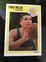 1989-90 Fleer #55 Chris Mullin NMMT Warriors Dream Team USA Basketball Card