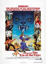 Sinbad & The Eye Of The Tiger Linen-backed Original Poster