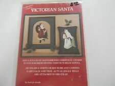 Victorian Santa Pattern for Wall Hanging/picture/Pillow from Country Appliques.