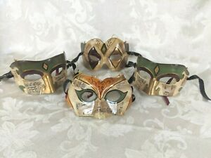 Clay Phantom of the Opera Venetian Masquerade Decorative Masks