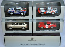 Porsche 911 T SC 959 Cayenne turbo History Collection Offroad Minichamps 1:43