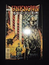 UNKNOWN SOLDIER 1 COMIC BOOK DC SIGNED TIM BRADSTREET DF Variant COA 185/250