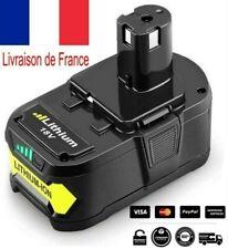 Batterie Pour Ryobi 18v One+ Plus 5.0AH RB18L25 RB18L40 RB18L50 P108 107 104 780