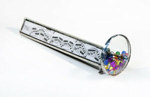 NEW Music Notes Stained Glass Kaleidoscope, hand crafted in USA