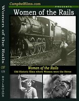 "Old Railroad Adventures films ""Women of the Rails"" Where Women were the heroes"