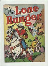 LONE RANGER #1 1948 DELL COMICS  GOLDEN AGE TONTO SILVER HIGHER GRADE