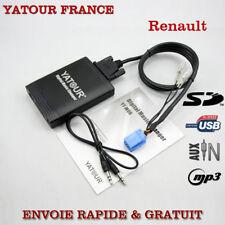 INTERFACE USB MP3 AUDIO AUTORADIO RENAULT CLIO SCENIC KANGOO LAGUNA TWINGO