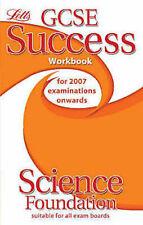 LETTS ___ GCSE SUCCESS WORKBOOK SCIENCE FOUNDATION ___ BRAND NEW ___ FREEPOST UK