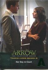 Arrow Season 2 Green Foil Parallel Base Card #20 Her Day in Court