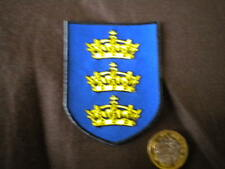 MEDIEVAL KNIGHTS COAT OF ARMS EMBROIDERED BADGE ( KING ARTHURS)