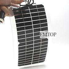 Mono 12V 5W Solar USB Panel Generator Power Caravan Camping Battery Charging