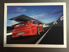 2011 Porsche 911 GT3 Factory issued Post Card Right Rear RARE!! Awesome L@@K