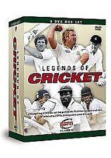 Legends Of Cricket (DVD, 2008, 6-Disc Set, Box Set)