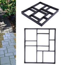 Driveway Paving Pavement Mold Patio Concrete Stepping Stone Path Walk Maker 50cm