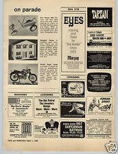 1967 PAPER AD Revell 1/8 Scale Model Kit Hinda Super Hawk Scrambler Doll House