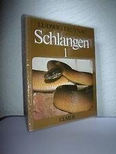Schlangen im Terrarium, Bd. 1: Ungiftige Schlangen von Ludwig Trutnau (1981) geb