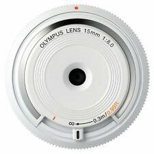 Olympus 15mm f/8.0 Body Cap Lens (White)