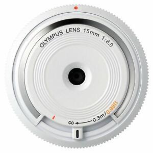 Olympus 15mm f/8.0 Body Cap Lens (White)