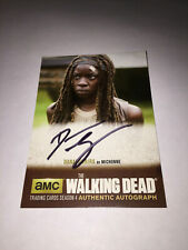 Cryptozoic Walking Dead Season 4: Part 2 Michonne Autograph Auto DG3 Card