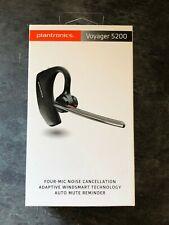 Plantronics Voyager 5200 Bluetooth Headset - Black - NEW | SEALED | UK SELLER
