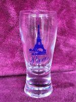 "Paris Eiffel Tower Shot Glass 4"" Tall"