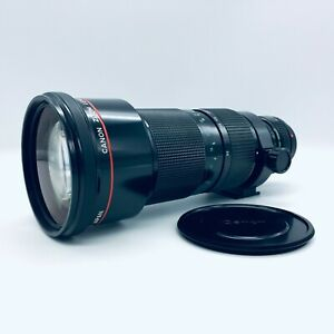 【 Fast Neu IN Hülle 】 Canon New Fd 50-300mm F4.5 L Zoomobjektiv Selten #120604