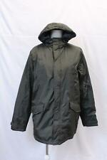 Threadbare Men's Hooded Padded Parka Jacket AB3 Olive Green Large NWT