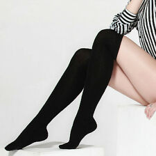 Calze parigine colore nero in cotone Sexy ed elegante moda 2016