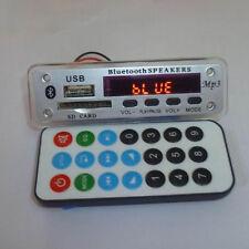 Bluetooth Audio-Modul USB TF Karte Radio Auto MP3 WMA Decoder Board DC 12V Heiß