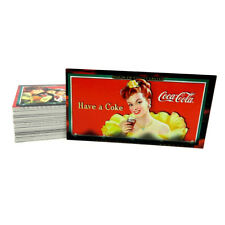 1996 Collect-A-Card Coca-Cola Sign of Good Taste Trading Card Set (72) Nm/Mt