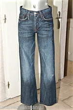 bonito jeans destroy hombre TOMMY HILFIGER DENIM neo de campana talla W27 L32