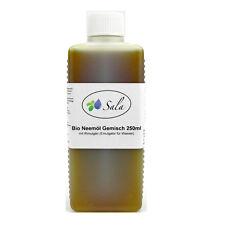 (4,80/100ml) Sala Bio Neemöl kaltgepresst mit Rimulgan Emulgator 250 ml