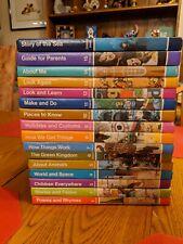 Vintage Set of CHILDCRAFT Books 1976 Complete Set 1-15 plus 1 Annual 16 total