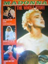 MADONNA THE WHOLE STORY - UK MAGAZINE 1988