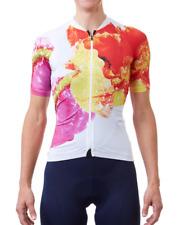 X-SMALL (XS) Velocio Women's ULTRALIGHT Cycling JERSEY - neon pop floral