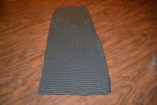 B25- Bar III Striped Rayon/Spandex Skirt Size XS