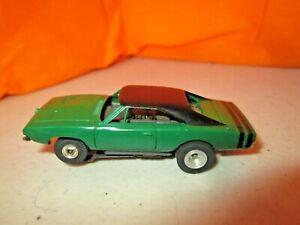 Vintage Aurora Thunderjet 500 Dodge Charger w/TJET Chassis HO Slot Car