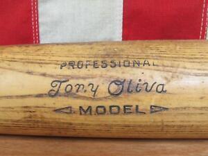 """Vintage Adirondack Wood Baseball Bat 212 Tony Oliva Professional Model 34"""" Twins"""