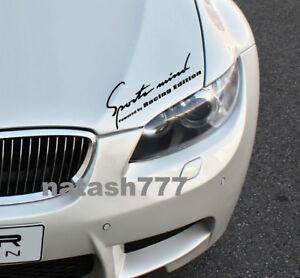 Sports Mind Powered by Racing Edition BMW M2 M3 M5 M6 Vinyl decal sticker emblem