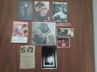Gone With The Wind Scarlett & Rhett 4 movie postcards, pictures & card