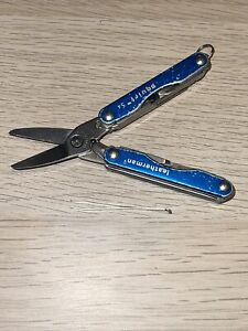 Leatherman Squirt S4 Blue multi-tool Retired Good