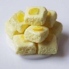 dolls house food, lemon sponge cakes,12th scale miniature, cake shop, bakery