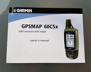 Handbuch / owners manual Garmin GPSMap 60 CSx (ENGLISCH)