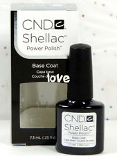 CND Gel Polish UV Nail Gel Base Top Coat /Brand New Gel Color #3- Choose Any